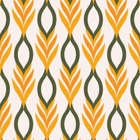bird of paradise flower: Birds of paradise tree background pattern,vector illustration Illustration