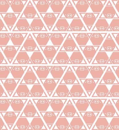 illustation: Pig background pattern pink,vector illustation