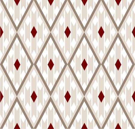 Silk geometric pattern