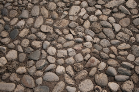 stone street closeup.