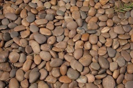 raw stone footbath.