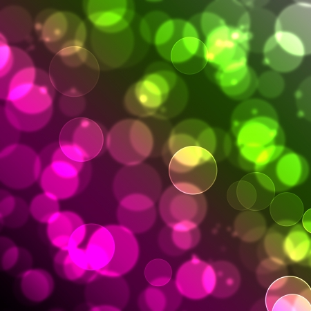Colorful_bokeh_background Stock Photo