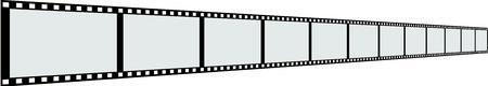 Line of film strip
