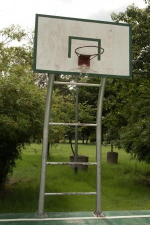 old_basketball_goal photo