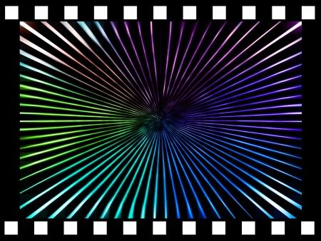 border of single film strip.