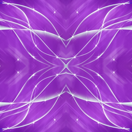 Cross line purple background with star field