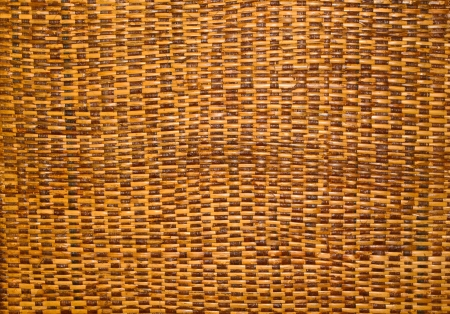 brown Rattan texture background photo