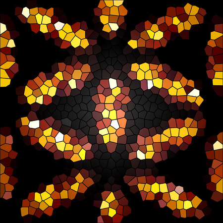 abstrack colorful mosaic texture background photo