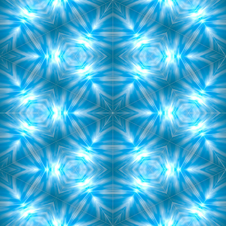 Glowing blue abstract colorful wallpaper background