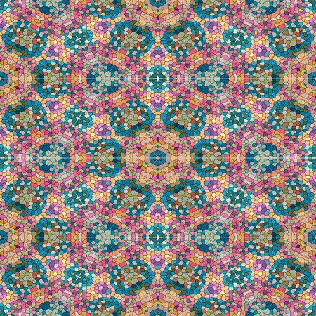 Abstract mosaic colorful wallpaper texture background