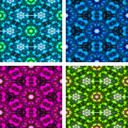 set of abstrack colorful background photo