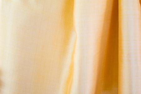 Gold silk fabric texture background