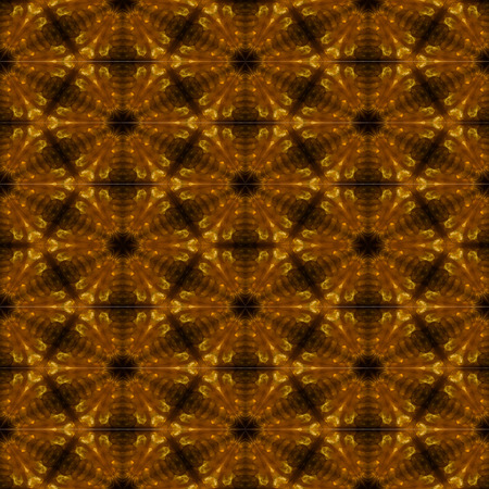 Golden pattern tile background
