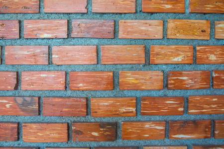Brown brick texture background