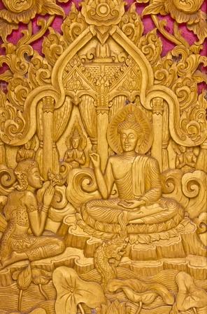 Buddha , northern Thai style.