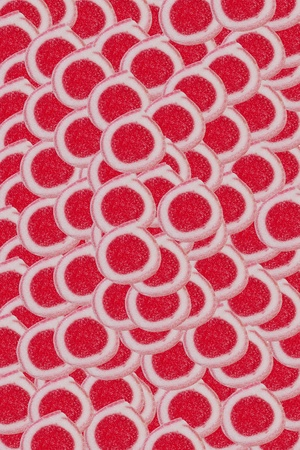 red sweet background Stock Photo