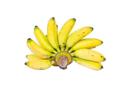 Bunch of bananas, isolated on white background Stock Photo - 15330773