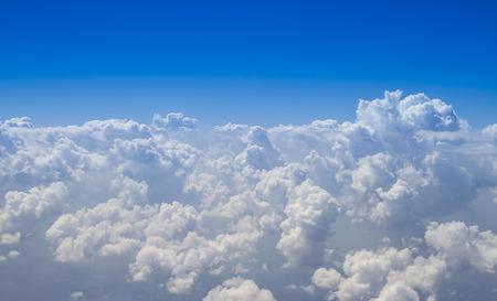 cumulus cloud: beautiful cumulus cloud on the horizon