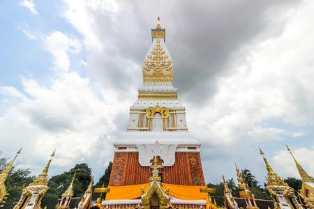 Phra That Phanom is a pagoda pagoda in the Northeast Thailand, Thailand, pagoda.