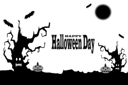 Halloween day background
