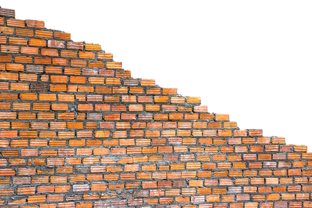 The brick wall is not finished There is space available for writing text