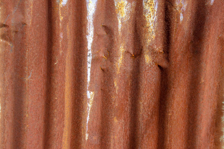 Rusty surface on metal plate abstract background concept.