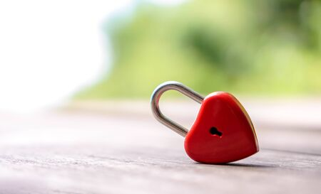 Red keys that are heart shaped, ideas, love, Valentine's Day.