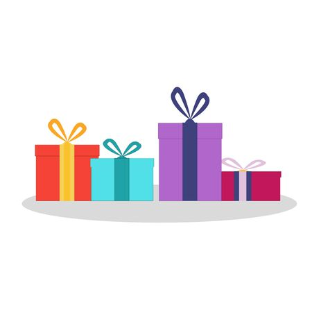 Gift boxes at various festivals, such as Christmas birthdays or various occasions given.