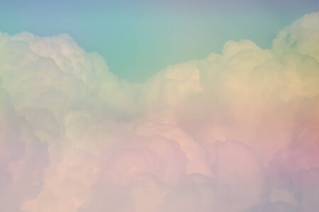 Pastel clouds patten texture background