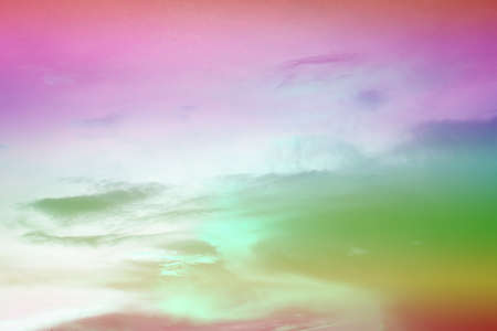 Blurred background,Vintage rainbow sky. Stock fotó