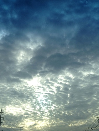 gloomy: Gloomy sky