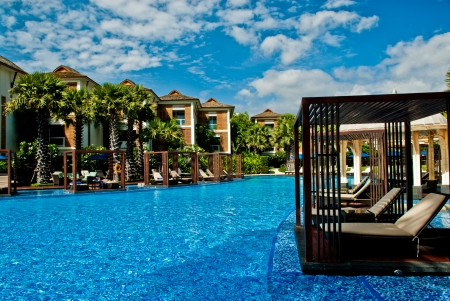 travel pool resort