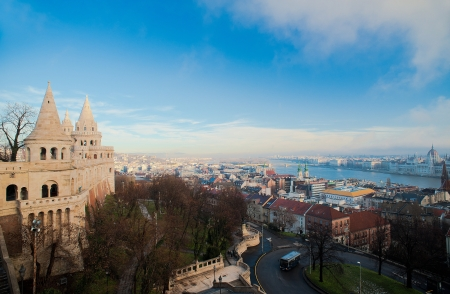 schulek: Fisherman s Bastion in Budapest, Hungary Stock Photo