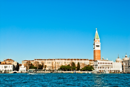 Venice, Italy - Piazza San Marco in the morning  photo