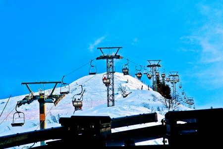 The mount titlis in Swiss photo
