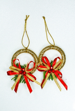 gift Christmas Sampler One Stocking Stock Photo - 23956562