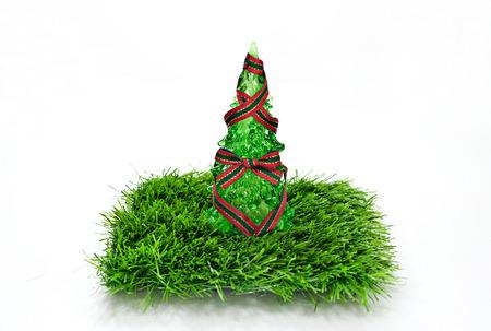 gift Christmas Sampler One Stocking Stock Photo