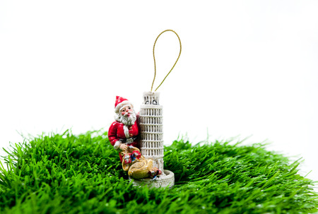 gift Christmas Sampler One Stocking Stock Photo - 23956573