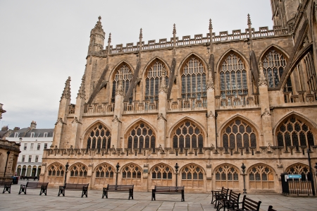 Bath Abbey is England photo
