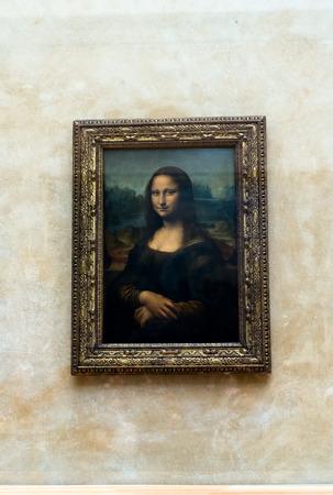 royals: Mona Lisa by the Italian artist Leonardo da Vinci at the Louvre Museum, April 15, 2015 in Paris, France.