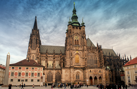 St. Vitus Cathedral in Prague,