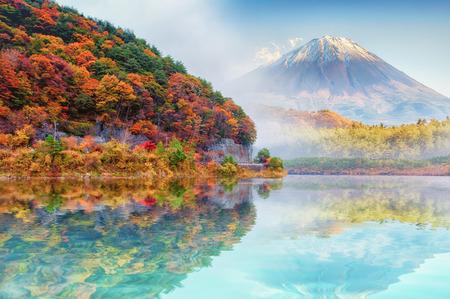 가을의 후지산