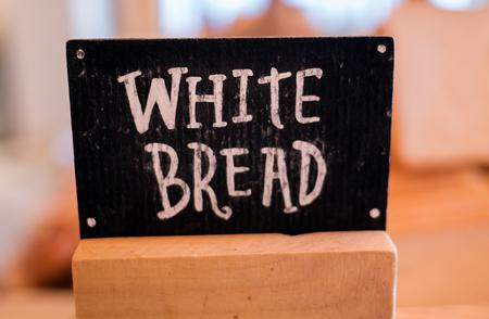 Closeup pile of wheat bread for breakfast Standard-Bild