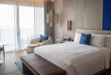 Pattaya, THAILAND - November 23 : 1 Bedroom Suite room interior of Renaissance Pattaya Resort & Spa on November 23 2018 in Pattaya, Thailand. Redakční