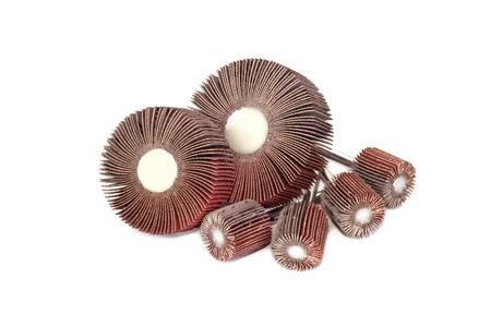 flap: Flap Wheel isolated on white background