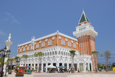 The Venezia Hua Hin, a shopping venue in Venice style, Thailand.