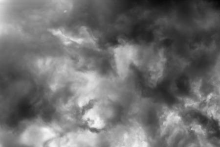 nimbus: nimbus black and white background Stock Photo