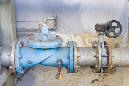 stoppage: Industrial water valve