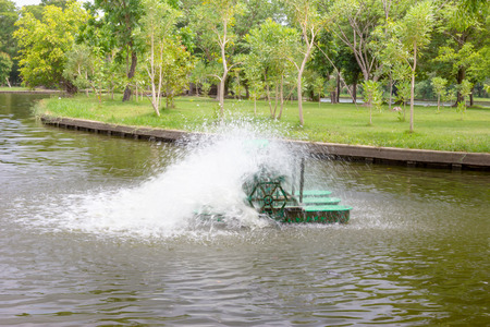 waste water: surface aerators,use for make the waste water to clean water