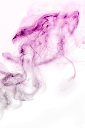 resplandor: Monstruo en forma de humo, fondo blanco
